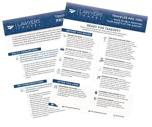 Graphic Asset Lawyers Travel Web Page