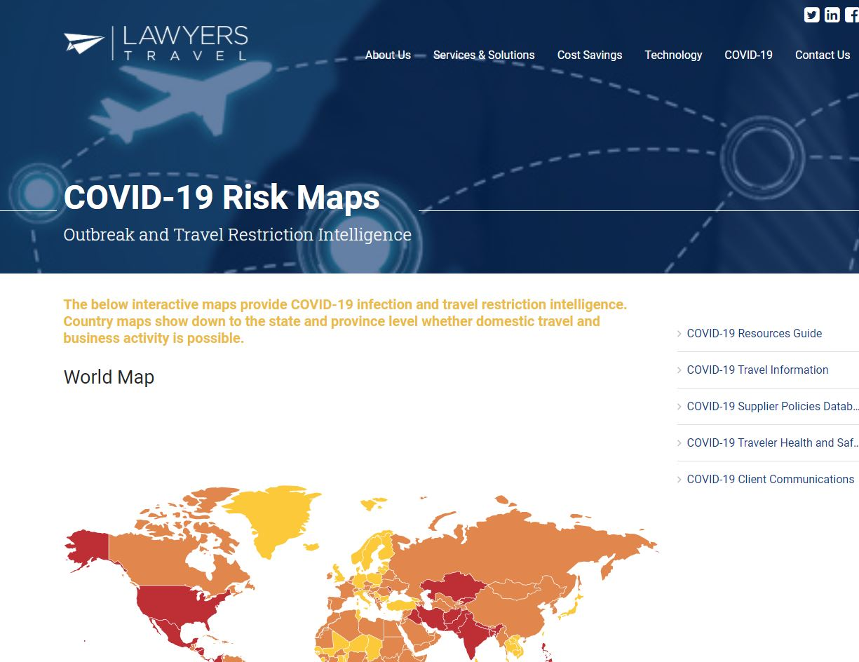 For LT Covid Itinerary Mgmt Page_RISK MAPS