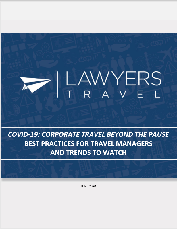 corporate travel best practice cover LT